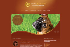 Shiatsu für Hunde